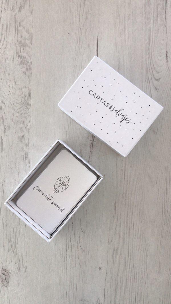 Imagen caja cartas salvajes Sierra Salvaje